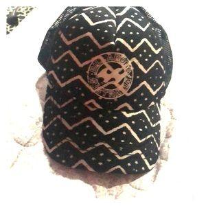 Billabong trucker hat.